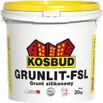 Grunt silikonowy pod farby fasadowe GRUNLIT FSL