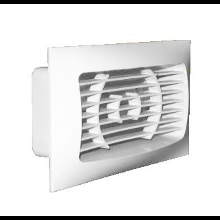 Kratka wentylacyjna systemowa 150/60 (do kanału płaskiego 110/55)
