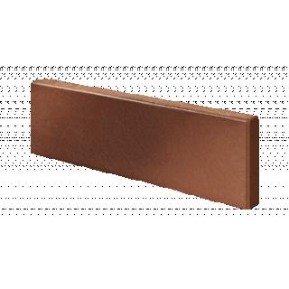 Płytka klinkierowa czerwono-brązowa gładka DARWIN ROBEN