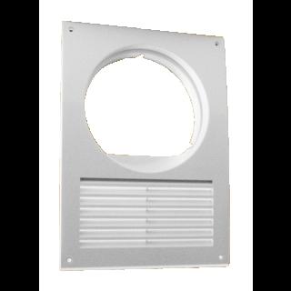 Osłona wentylacji okapu biała