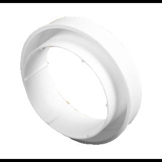 Redukcja okrągła biała 100/125