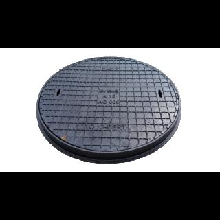 Właz żeliwny okrągły AO-600