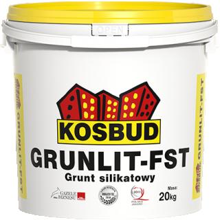 Grunt silikatowy pod farby fasadowe ST GRUNLIT FST