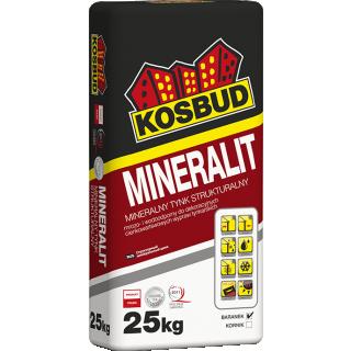 Tynk strukturalny mineralno-polimerowy MINERALIT 25kg