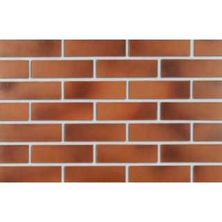 Cegła klinkierowa czerwono-brązowa gładka ROBEN DARWIN