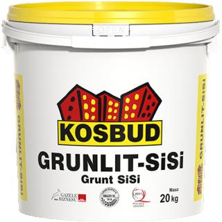 Grunt silikonowo-silikatowy GRUNLIT Si-Si z piaskiem kwarcowym