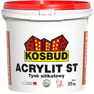 "Tynk silikatowy ACRYLIT-ST ""baranek"" 25kg"