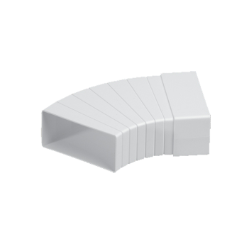 Kolano poziome wielokątne 15-60st. (system 110/55)