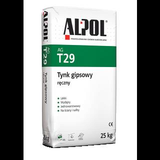 Tynk gipsowy ręczny ALPOL AG T29 GOLDBAND 25kg