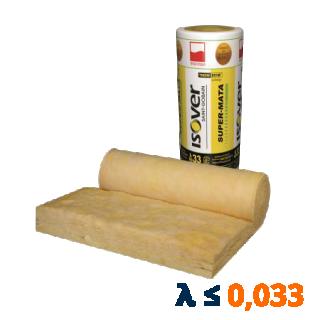 Wełna szklana SUPER-MATA - ISOVER