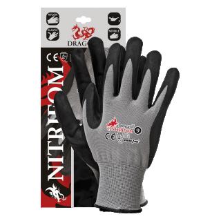 Rękawice DRAGON nitrylowe