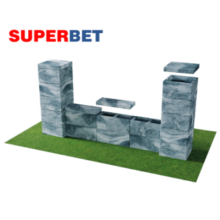 Ogrodzenie elegant SUPERBET