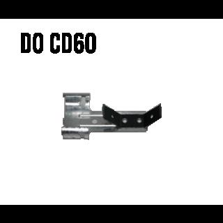 Wieszak obrotowy ze sprężyną (do CD 60) gr. 0,8mm