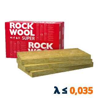 Płyta ze skalnej wełny mineralnej SUPERROCK 1000x610mm