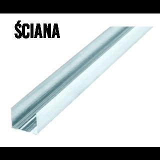 Profil ścienny U50 (startowy) dł. 4mb