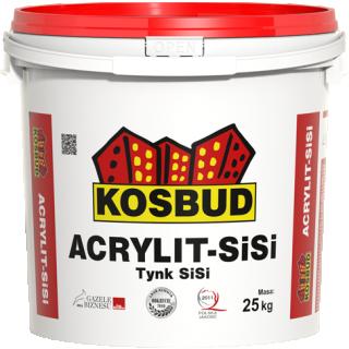 "Tynk silikonowo-silikatowy ACRYLIT Si-Si ""baranek"" 25kg"