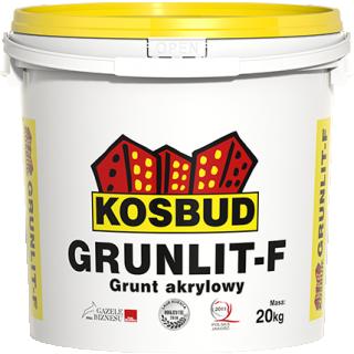Grunt akrylowy pod farby fasadowe GRUNLIT-F