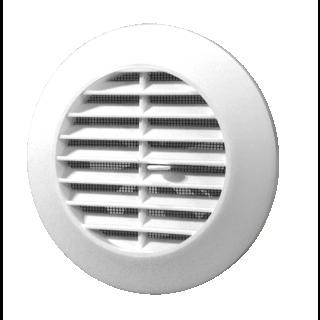 Kratka wentylacyjna skośna zamykana śr. 100 biała
